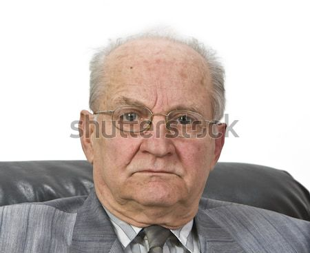 Portrait of a senior man Stock photo © RazvanPhotography