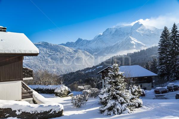 Mountainous Resort Stock photo © RazvanPhotography