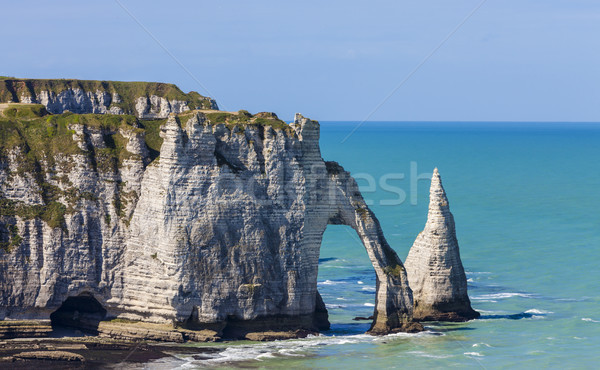 Cliffs of Etretat, Normandy,France Stock photo © RazvanPhotography
