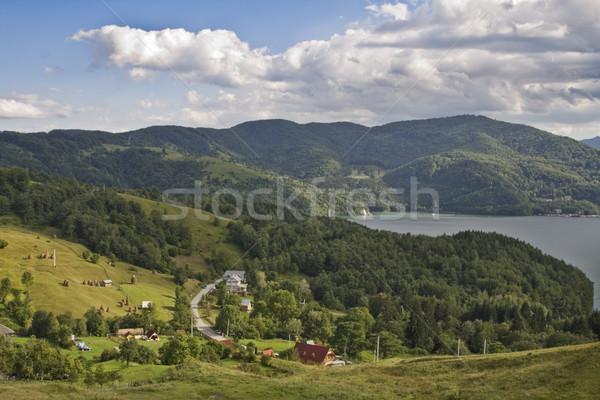 Mountain village Stock photo © RazvanPhotography