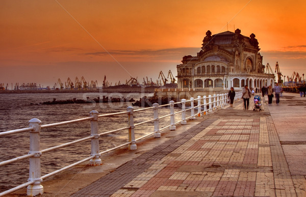 Promenade at sunset Stock photo © RazvanPhotography