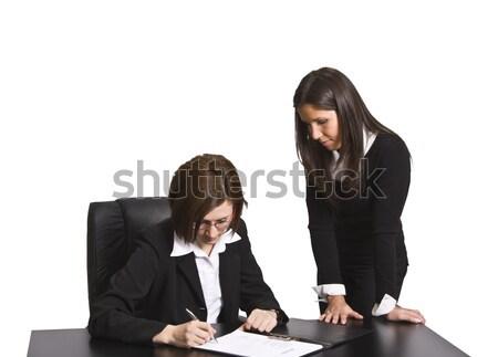Signing the contract Stock photo © RazvanPhotography