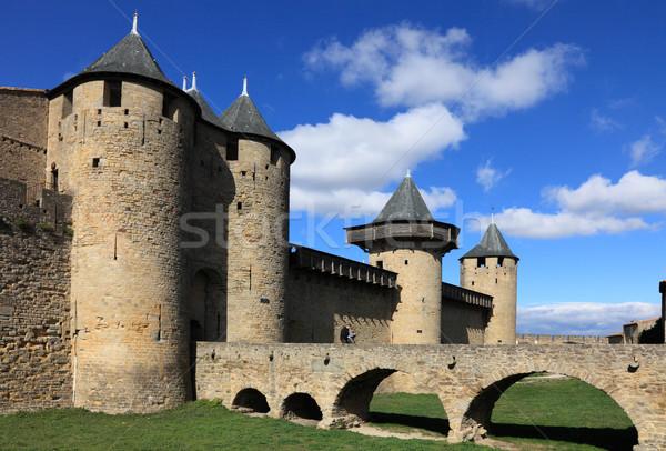 Carcassonne Stock photo © RazvanPhotography