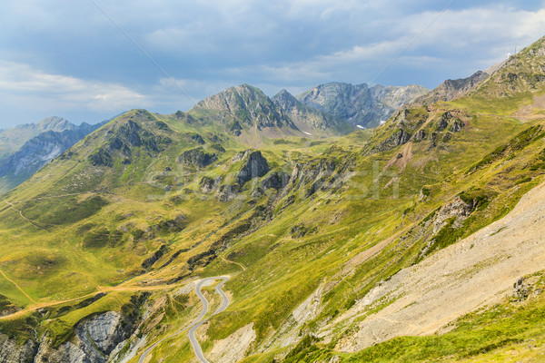 Landscape in Pyrenees Mountains Stock photo © RazvanPhotography