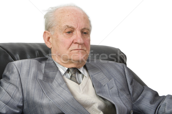 A senior's portrait Stock photo © RazvanPhotography