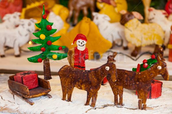 Christmas Ginger Bread Scene Stock photo © RazvanPhotography