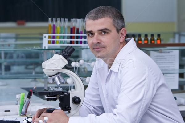 Portrait of a researcher Stock photo © RazvanPhotography