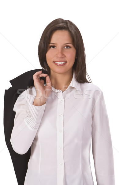 Young woman dressed casually Stock photo © RazvanPhotography