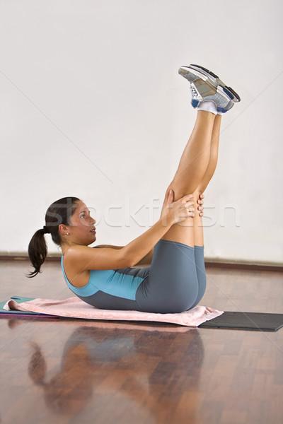 Aerobica dettaglio immagine donna esercizio palestra Foto d'archivio © RazvanPhotography