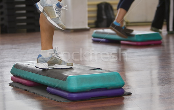 Aerobics abstract Stock photo © RazvanPhotography