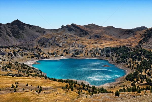 Allos Lake (Lac D'Allos) Stock photo © RazvanPhotography
