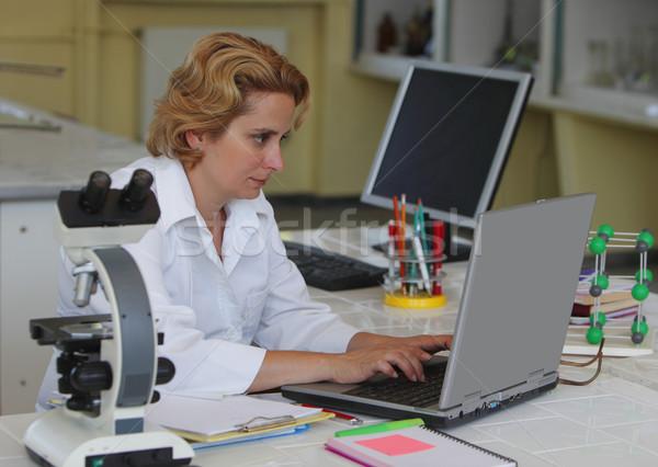 Female researcher Stock photo © RazvanPhotography