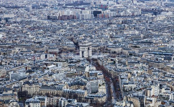 Paris - Triumphal Arch Stock photo © RazvanPhotography