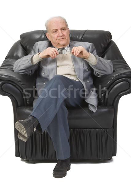 Thoughtful senior man Stock photo © RazvanPhotography