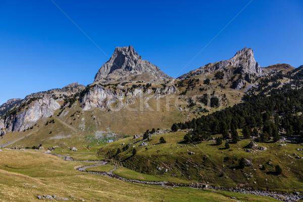 Pic du Midi D'Ossau Stock photo © RazvanPhotography