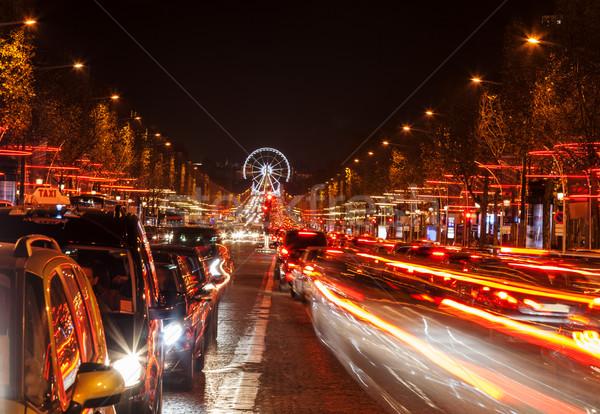 Avenue des Champs-Élysées Stock photo © RazvanPhotography