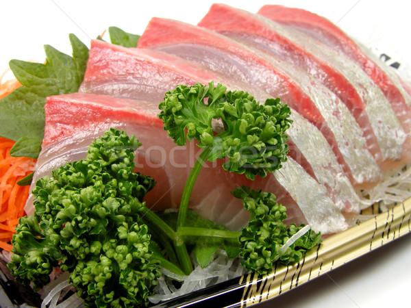 Sashimi aşırı gıda balık restoran Stok fotoğraf © RazvanPhotography