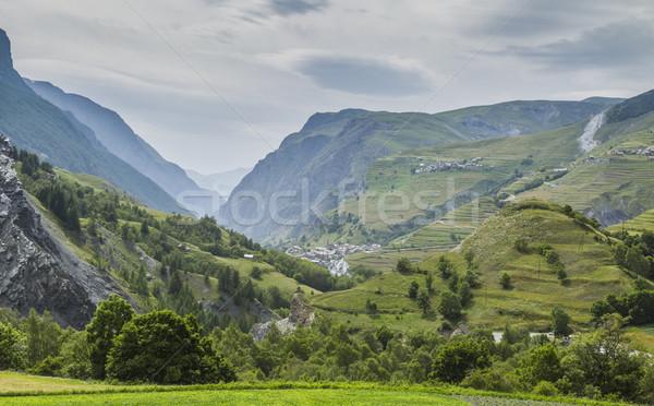 Intempéries alpes lourd ciel élevé altitude Photo stock © RazvanPhotography