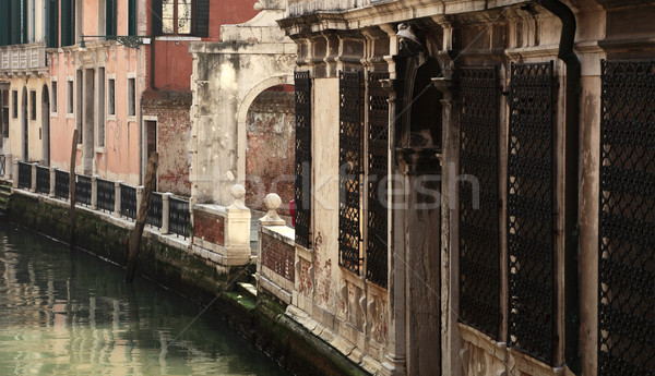 Small Venetian canal Stock photo © RazvanPhotography