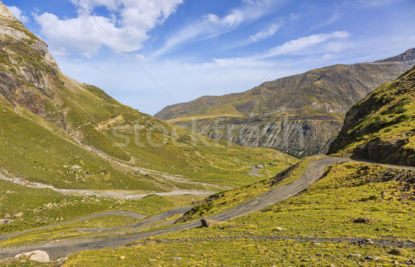 The Road to Circus of Troumouse - Pyrenees Mountains Stock photo © RazvanPhotography