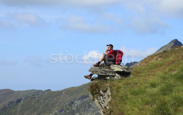 Hiker Stock photo © RazvanPhotography
