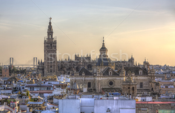 The Cathedral of Seville, Andalusia, Spain Stock photo © RazvanPhotography