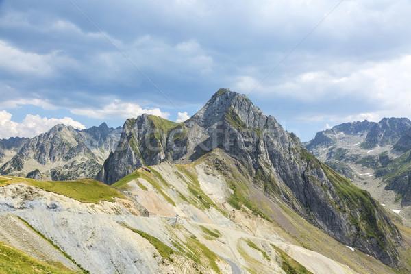 Foto stock: Paisagem · montanhas · belo · central · francês