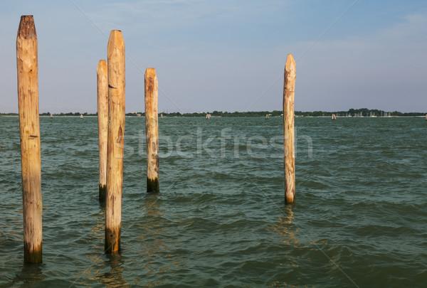 木製 6 ベニスの 運河 風景 海 ストックフォト © RazvanPhotography