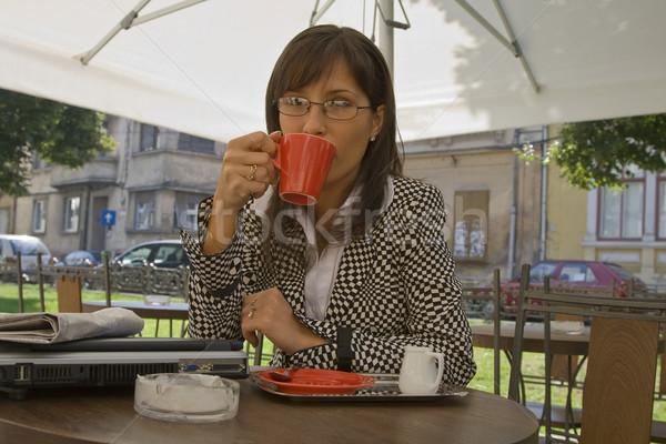 Coffee break Stock photo © RazvanPhotography
