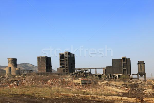 Pesado industria ruinas industrial lugar Foto stock © RazvanPhotography