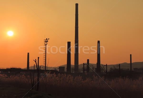 Industrial sunset Stock photo © RazvanPhotography