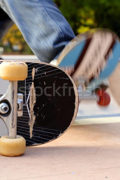 Skateboard abstract Stock photo © RazvanPhotography