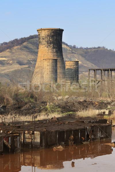 Zdjęcia stock: Ciężki · przemysłu · ruiny · przemysłowych · miejsce