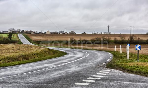 Empty Winding Road Stock photo © RazvanPhotography