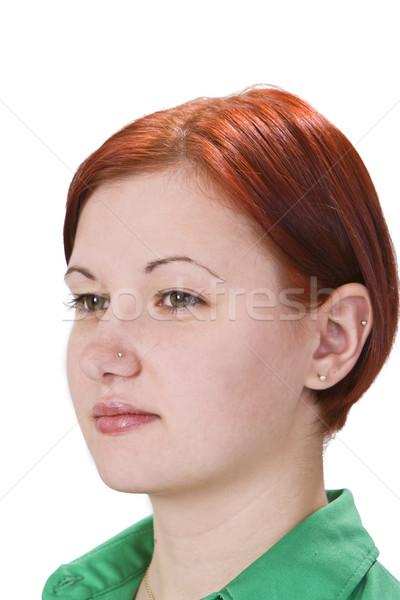 Portrait of a redheaded girl Stock photo © RazvanPhotography