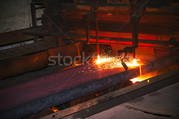 hot steel from oven Stock photo © razvanphotos