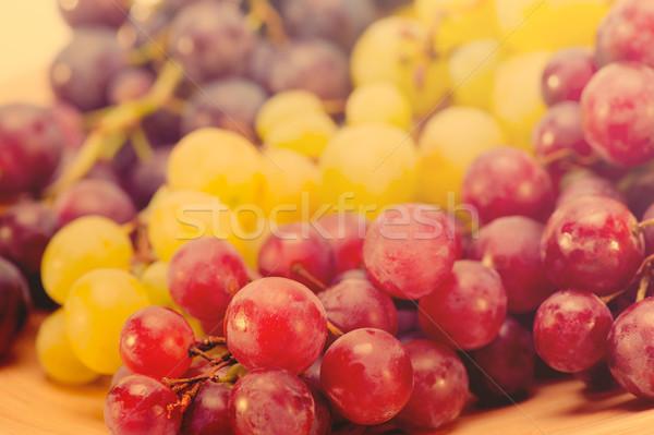 red grapes on table Stock photo © razvanphotos