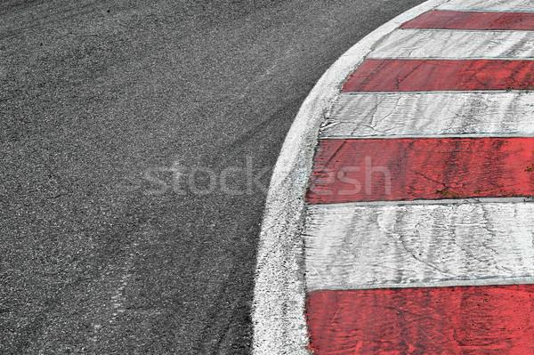 Yarış pisti detay doku spor dünya arka plan Stok fotoğraf © razvanphotos