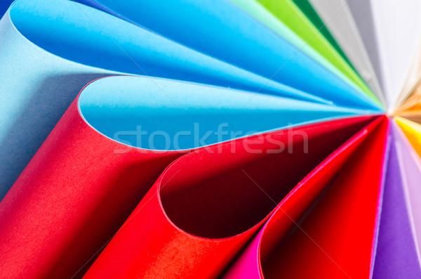 Color paper variety Stock photo © razvanphotos