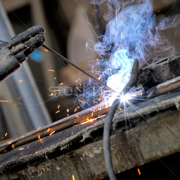 welding close-up bright light Stock photo © razvanphotos