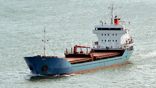 Foto stock: Industrial · navio · rio · mar · segurança · barco