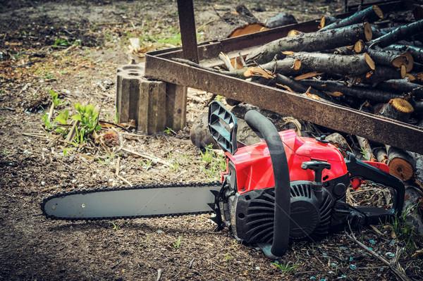 Chainsaw Stock photo © razvanphotos