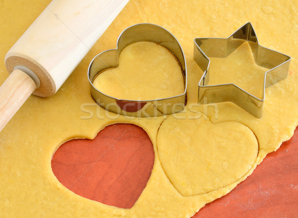 Cookie cutter forms Stock photo © razvanphotos