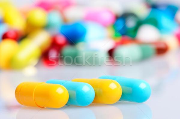錠剤 医療 薬 痛み コンセプト マクロ ストックフォト © razvanphotos