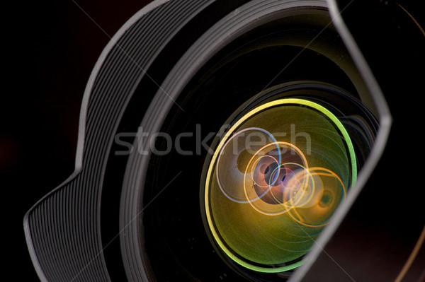 professional photo lens closeup Stock photo © razvanphotos