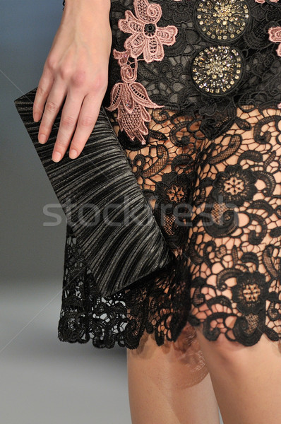Purse detail with young women Stock photo © razvanphotos