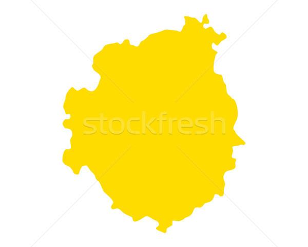 Map of Brava Stock photo © rbiedermann