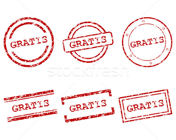 Gratis postzegels ontwerp brief stempel gratis Stockfoto © rbiedermann