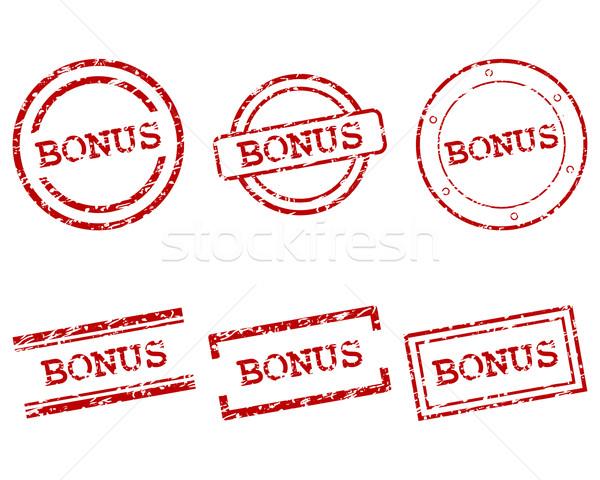 Bónusz bélyegek bélyeg klasszikus grafikus gomb Stock fotó © rbiedermann