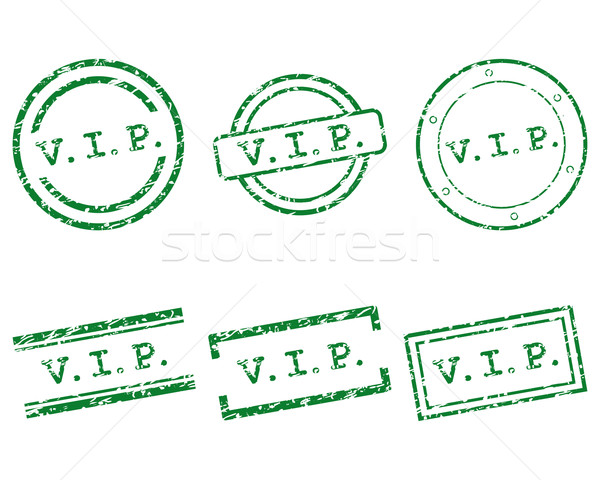 Vip stamps Stock photo © rbiedermann